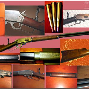 MARLIN 1893 LEVER ACTION .25 X 36 RIFLE